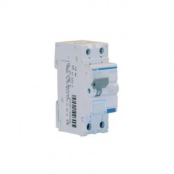 HAGER ADC820H INTERRUTTORE AUTOMATICO MAGNETOTERMICO DIFFERENZIALE BIPOLARE 1P+N 30mA AC 20A 4.5KA