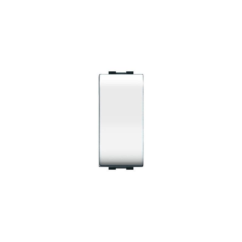 Interruttore unipolare  ECL 4000 WH bianco  Elettrocanali